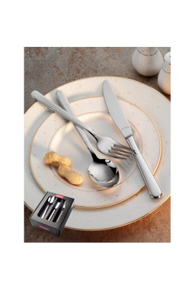 Aryıldız Kristal 18 Parça Yemek Takımı