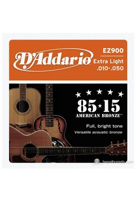 Daddario Ez900 - Extra Light - 010 Akustik Gitar Takım Tel