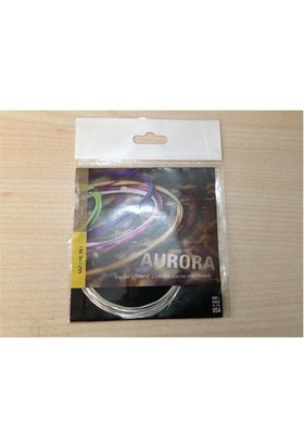 Kısa Sap Saz Teli Aurora Beyaz Bam Tel 018