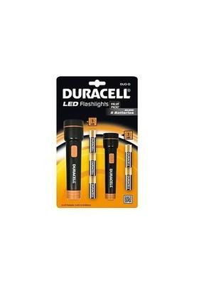 Duracell Led Fener 2'li Özel Set - DUO-D (STL-3 ve STL-5 Modellerini içerir)