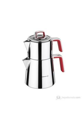 Korkmaz A 081-01 Vertex Çaydanlık Takımı
