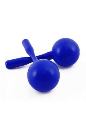 Marakas Plastik Büyük Boy M22Bl Mavi