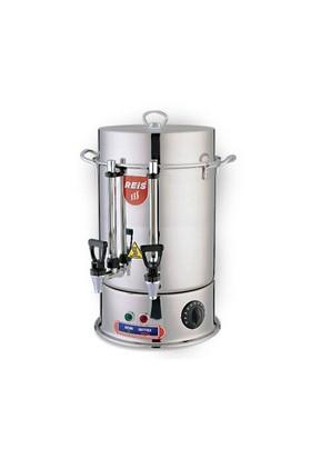 Reis Kuyumculuk R18-40 Bardak Çelik Çay Makinesi (Çelik Musluk)