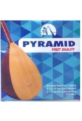 İmecemuzik Pyramid First Quaility Kısa Sap Bağlama Teli