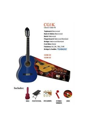 Valencia Cg1Ktbu Klasik Gitar Seti