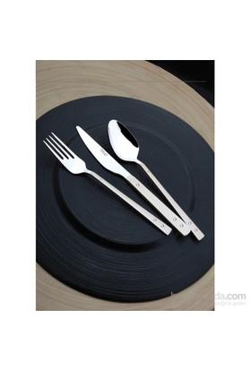 Yetkin Pırlanta 12 Adet Yemek Bıçağı - Saten