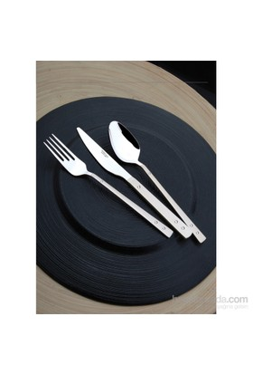 Yetkin Pırlanta 12 Adet Yemek Çatalı - Sade