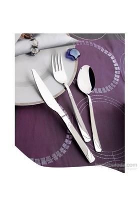 Yetkin Rüya 12 Adet Yemek Bıçağı - Saten