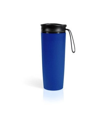 Pratigo Devrilmez & Sızdırmaz Mug Bardak Dış Cephe Mavi