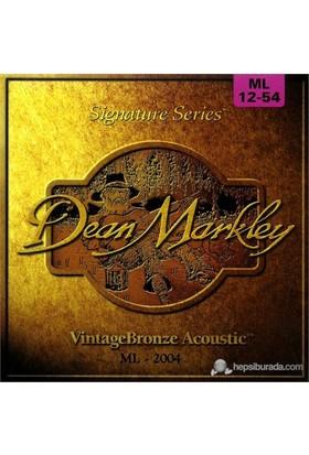 Dean Markley Vintagebronze Acoustic - Ml Akustik Gitar Telleri