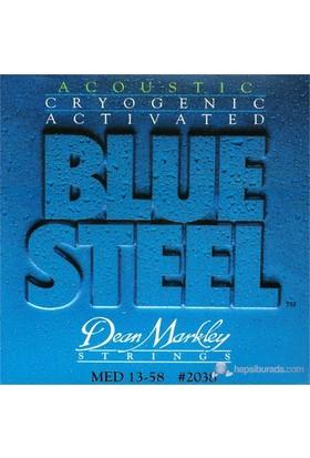 Dean Markley Blue Steel Acoustic - Med Akustik Gitar Telleri