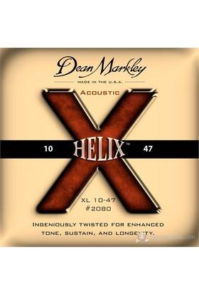 Dean Markley Helix Hd Acoustic - Xl Akustik Gitar Telleri