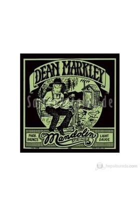 Dean Markley Mandolin Phosbronze - Lt Mandolin Telleri