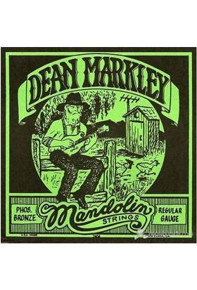 Dean Markley Mandolin Phosbronze - Reg Mandolin Telleri