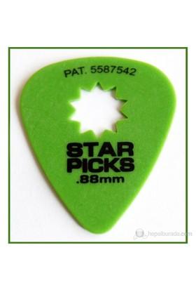 Star Picks Green 0.88Mm Pena