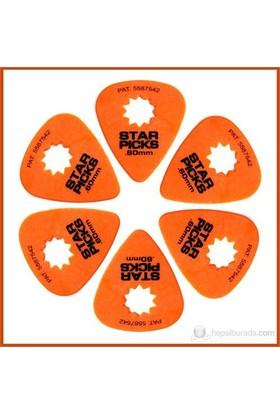Star Picks Orange 0.60Mm - 6 Pack Pena
