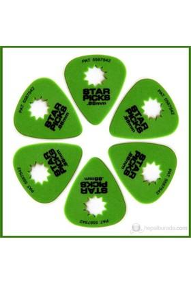Star Picks Green 0.88Mm - 6 Pack Pena