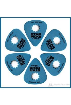 Star Picks Blue 1.00Mm - 6 Pack Pena