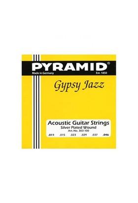 Pyramid Gitar Aksesuar Akustik Tel 0.11 303100