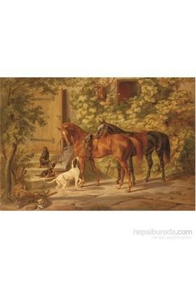 Karma Puzzle Verandadaki Atlar (500 Parça)