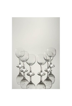 Paşabahçe Bıstro Su Bardağı Set 6.Lı