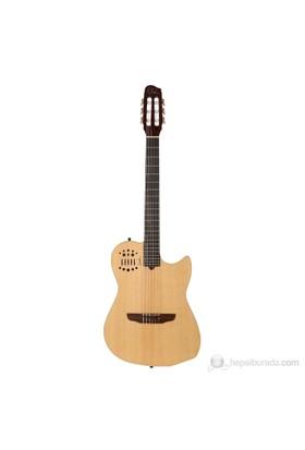 Godin Multiac Nylon Natural HG Elektro Klasik Gitar