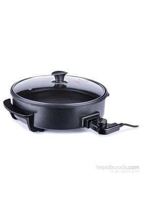 Stilevs Multitava 367 Granit Pizza Tavası - Siyah