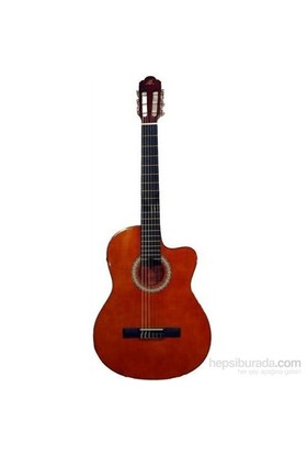 Barcelona Lc 3900 Cyw Cutaway Kahverengi Klasik Gitar