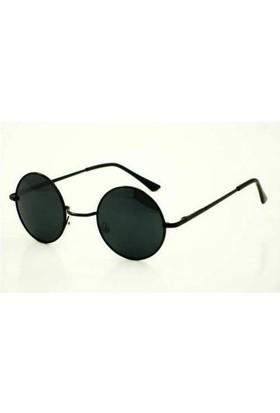 Köstebek John Lennon Gözlük Siyah