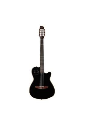 GODIN ACS Slim Cedar Black Pearl Elektro Klasik Gitar