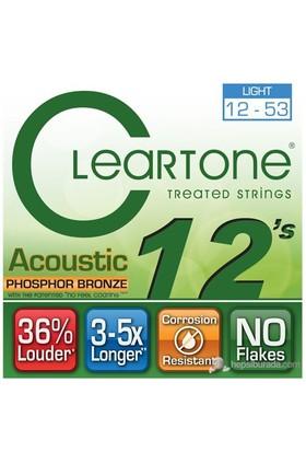 Cleartone Phos-Bronze Light (12-53) Akustik Gitar Teli