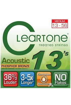 Cleartone Phos-Bronze Medium (13-56) Akustik Gitar Teli
