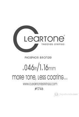 Cleartone Acoustic Phos-Bronze (.046) Emp Akustik Gitar Teli