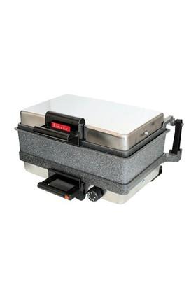 Bimeks Turbomeks Bazlama Lahmacun Grill Makinesi (Granit Tava)
