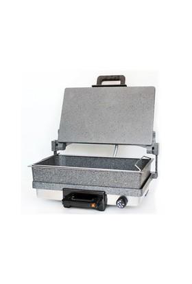 Bimeks Turbomeks Bazlama Lahmacun Grill Makinesi (Granit Jumbo Tavalã½)