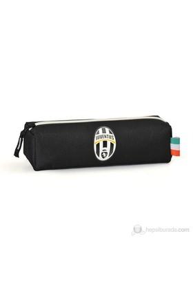 Juventus Kalem Çantası 21*6*6 cm (Siyah-Beyaz)