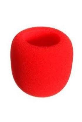 D-Sound Mikrofon Süngeri Kırmızı D-Sound F-01Rd