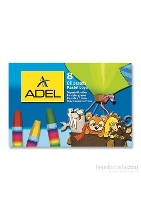 Adel Karton Kutu Pastel Boya 8 Renk (4280817000)