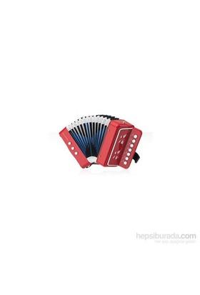 Honer 14 Tonlu Mini Akordeon (Kırmızı)