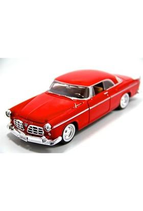 Motormax 1:24 1955 Chrysler C300 -Kırmızı Model Araba