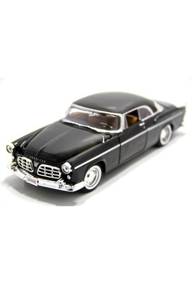Motormax 1:24 1955 Chrysler C300 -Siyah Model Araba