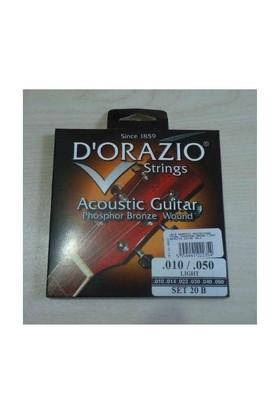 Dorazio 20/B Akustik Gitar Phosphor Bronze
