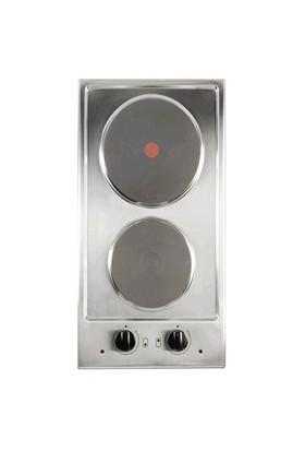 Termikel 17071 X302 2 Gözü Elektrikli Domino Ankastre Ocak