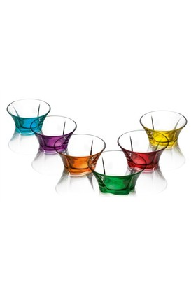 Lav Truva Cam Kase Renkli 6'Lı Tru248pt