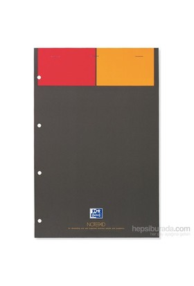 Oxford Notepad 21X31,5 80Yp Kareli
