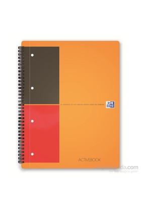 Oxford Internatıonal Actıvebook A4 80Yp Çizgili