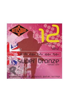 Rotosound SB12 Super Bronze Contact Core10 Akustik Gitar Teli