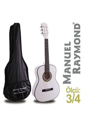 Manuel Raymond MRC87WH Junior Klasik Gitar