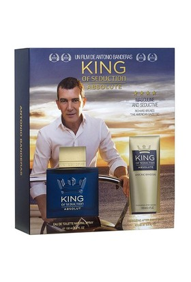 Antonio Banderas King Of Seduction Absolute Set Edt 100 Ml + After Shave Balm 100 Ml