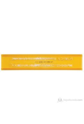 Ark Yazı Şablonu 5 mm